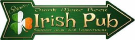 Irish Pub Arrow Street Sign - $22.24