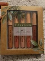 Livegreen 5 MATTE Lip Gloss Collection - $11.83