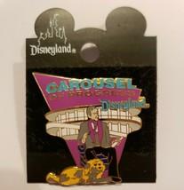 Disney Pin Carousel of Progress Narrator Rover Disneyland Attraction Enamel 98 - $66.83