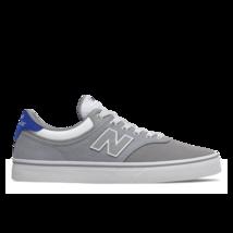 Mens New Balance Numeric 255 Skateboarding Shoes Grey White Blue (Gwr) - $69.99