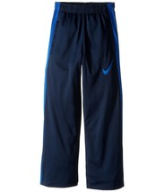 d9f28cbf11 NIKE Boys' Dry Performance Knit Pants, Obsidian Blue/Game Royal,