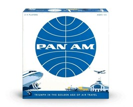 NEW SEALED Funko Pan Am American Airlines Board Game Target Exclusive - $46.39