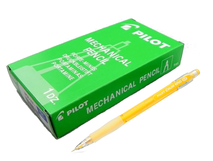 Primary image for Pilot Color ENO HCR-197 0.7 mm Mechanical Pencil (12pcs), Yellow Lead, HCR-197-Y