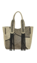 American West- Gypsy Patch Large Zip-Top Tote (Sand) - $258.00
