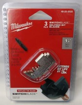 """Milwaukee 48-25-5525 SWITCHBLADE Replacement Blades 1-1/2"""" 3 Pack - $9.90"""