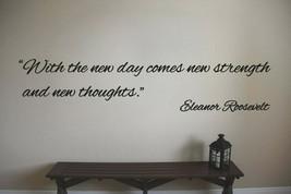 Eleanor Roosevelt Inspirational Teacher Classroom Quote Vinyl Sticker Decal - $14.99+