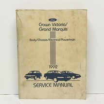 1992 Ford Crown Victoria Grand Marquis Service Manual - $12.99