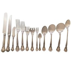 Chantilly by Gorham Sterling Silver Flatware Set for 18 Service 240 pcs ... - $16,995.00