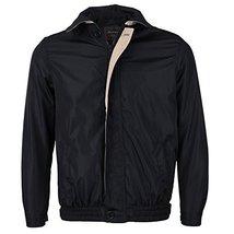 Men's Microfiber Golf Sport Water Resistant Zip Up Windbreaker Jacket Benny (3XL