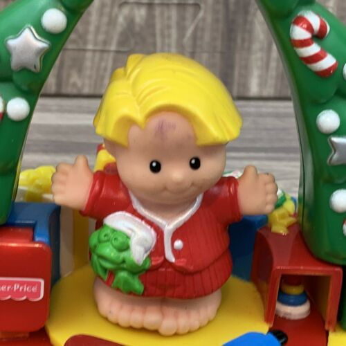 Primary image for Fisher Price Little People Christmas Ornaments Keepsakes 1999 Train