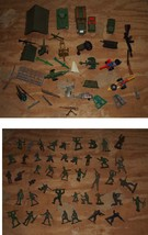 1960s Toy Play Set Toy Soldier Toy Soldier Military Army Timmee Marx + - $34.99