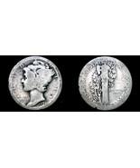 1920-D Mercury Dime Silver - $17.99