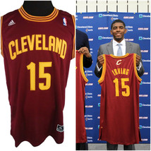 Kyrie Irving Mens Size 50 Adidas Stiched Jersey Rare NBA Draft Night Num... - $89.09