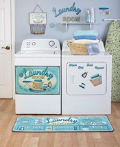 Lively Laundry Room Decor Accents Door Magnet Wall Decals Basket Window ... - $9.44+