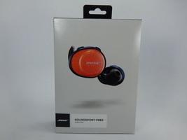 Bose SoundSport Free True Bluetooth Wireless Headphones Orange/Navy 774373-0030 - $138.59
