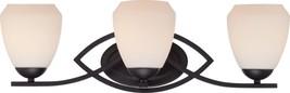 "Bali Texture Black opal Glass Bathroom Vanity Wall Sconce Light Lamp 24""... - $218.78"