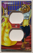 Beauty and the beast Light Switch Outlet duplex wall Cover Plate Home Decor image 2