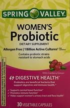 3 X Spring Valley Women's Probiotic 30 Capsule Each = 90  EXP 01/2022 - $15.99