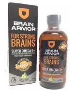 (New) Brain Armor For Strong Brains Super Omega-3, Vegan Liquid 4 oz - $27.71
