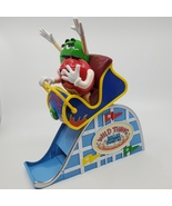 M&M's Wild Thing Ms. Green Mr. Red Roller Coaster Candy Dispenser.   - $15.00