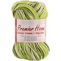 Premier Yarns Home Cotton Yarn, Cucumber Lime - $163,05 MXN
