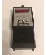 Gold Line SPL-120 Handheld SPL METER REFURBISHED AND CALIBRATED. Decibel... - $107.53
