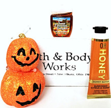 Bath & Body Works Oh Honey Hand Cream, PocketBac, Jack-o'-lantern magnet - $21.17