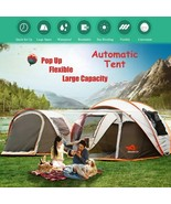 2-8 People Fully Automatic Camping Tent Windproof Waterproof Automatic P... - $143.99