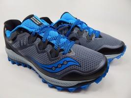 Saucony Peregrine 8 Men's Running Shoes Size 9 M (D) EU 42.5 Grey Blue S20424-2