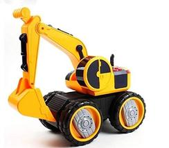 Ini Toys Melody Light Excavator Construction Power Heavy Equipment Car Vehicle T
