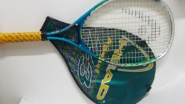 Vintage HEAD andre agassi Youth 23 Racket and Case - $12.50