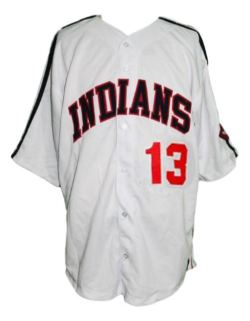Pedro cerrano  13 major league movie baseball jersey white  1