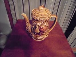 Vintage Hand Painted Ceramic Tea Kettle made in JAPAN - $18.45