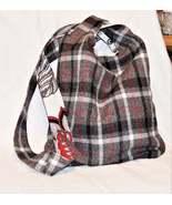 Plaid Flannel  Knot Bag - $25.75