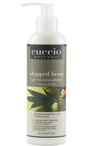 Cuccio Naturale Whipped Hemp Light Revitalizing Butter, 8 oz
