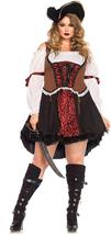 Leg Avenue Women's Plus-Size Ruthless Pirate Wench Costume - $93.97