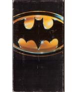 Batman VHS Michael Keaton Jack Nicholson Kim Basinger - $1.99