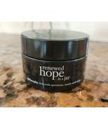 Philosophy RENEWED HOPE IN A JAR OVERNIGHT Night Moisturizer Cream .5 oz... - $12.21