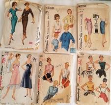 #94, Lot of 7 Vintage Women's Patterns, cut - $19.99