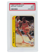 Michael Jordan 1986 Fleer #8 Chicago Bulls Sticker Rookie Card PSA MT 9(OC) - $12,869.99