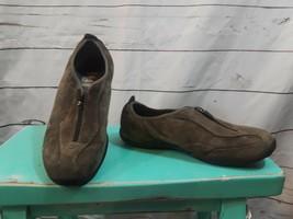 Merrell Shoes Size 8 Women Zipper Closing Brown Walking Comfort - $18.49