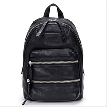 Marc by Marc Jacobs M0005483001 - Domo Biker Black Leather Backpack  image 1