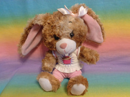 Build-a-Bear Buddies Smallfrys Cinnamon Swirl Bunny Rabbit Plush Animal - $11.83