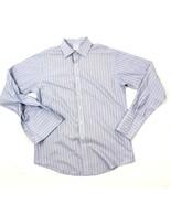 Brooks Brothers Uomo Non Stirare Superior Pima a Righe Camicia Coi Bottoni - $21.26