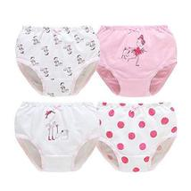 Set of 4 Children's Underwear Lovely Cotton Little Girl's Panties, Heigh... - $24.25