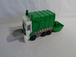 Imaginext Landfill Garbage Truck Green White - as is - $4.70