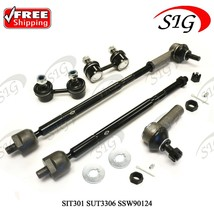 6Pc JPN Front Tie Rods Kit Stabilizer Sway Bar Link For Toyota Avalon 19... - $60.63