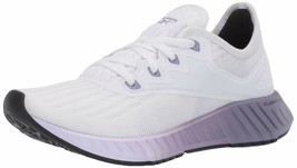 Reebok Women's Flashfilm 2.0 Running Shoe 9 White/Lilac Frost/Violet Haze - $67.84