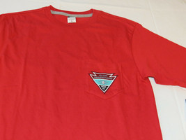 Volcom Stone logo Men's T shirt Appointed s/s TEE s surf skate CDY Red A3511603 - $21.26