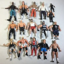 Lot Of 32 Mixed WWE ECW Wrestling Action Figures - $54.45